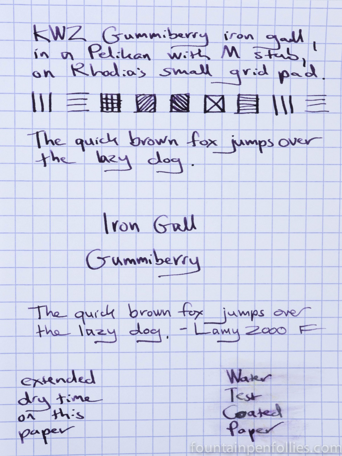 Ink Review: KWZ Iron Gall Gummiberry – Page 2 – Fountain Pen