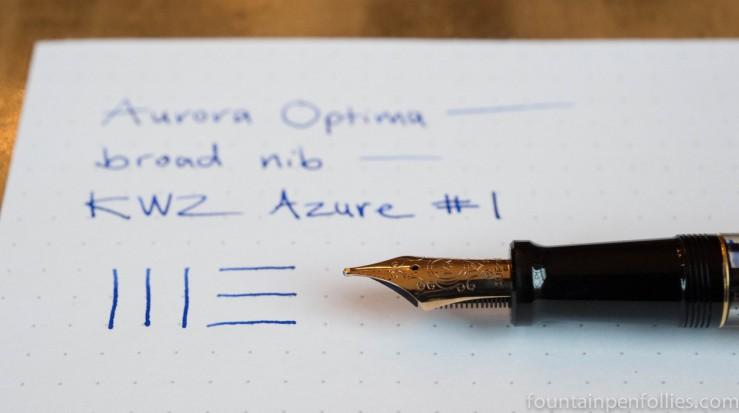 KWZ Azure #1 ink