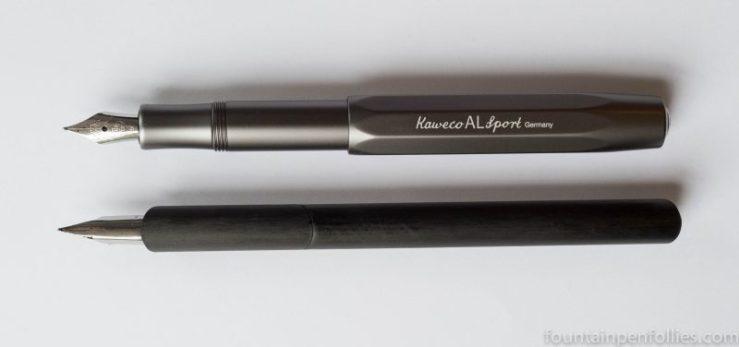 Venvstas Carbon T and Kaweco AL-Sport