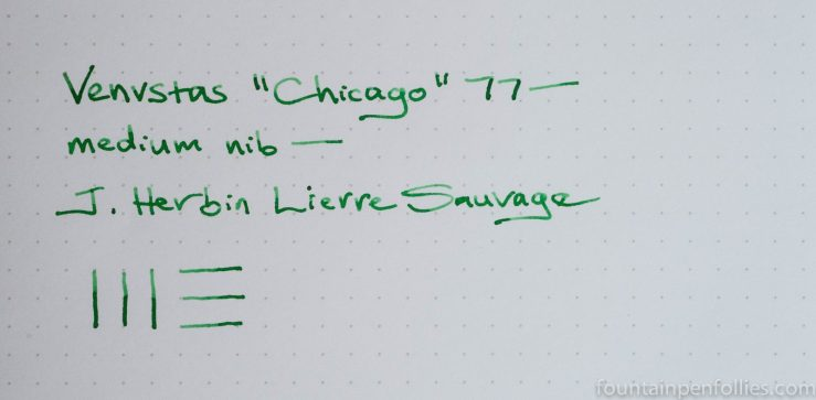 J. Herbin Lierre Sauvage writing sample