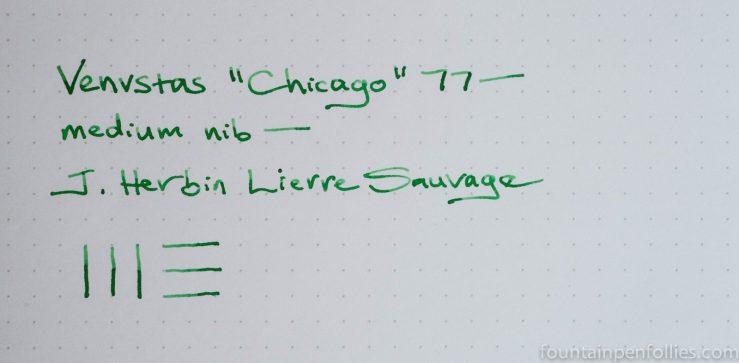 J. Herbin Lierre Sauvage writing sample