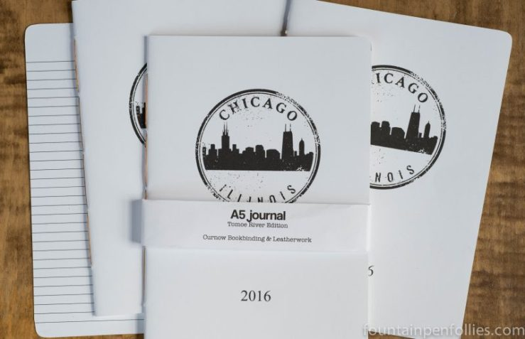 Curnow Bookbinding Tomoe River Journal Chicago Pen Show 2016