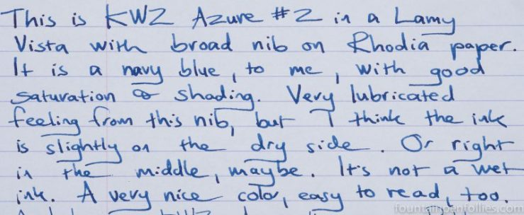 KWZ Azure #2 writing sample