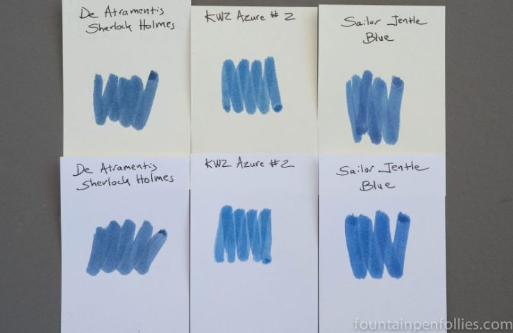 KWZ Azure #2 swab comparisons