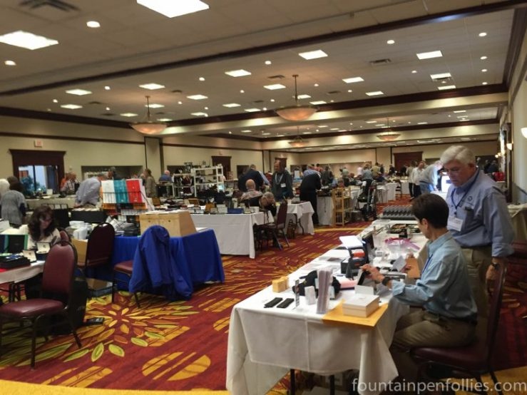 2016 Chicago Pen Show main ballroom