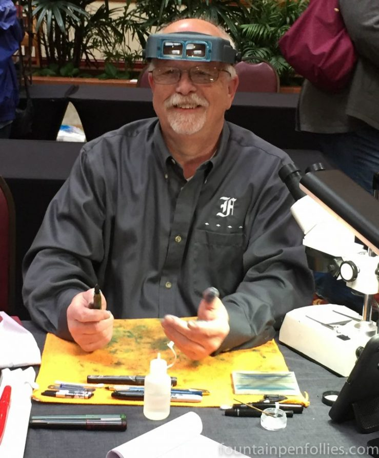 2016 Chicago Pen Show Jim Rouse of Franklin-Christoph