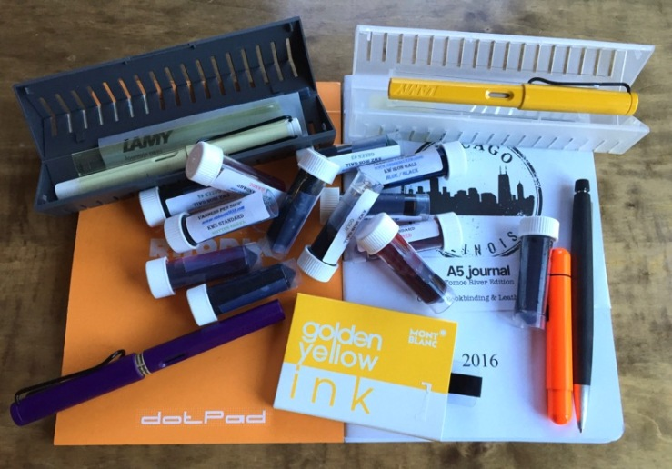 Chicago Pen Show 2016 purchases