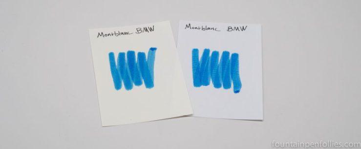 Montblanc BMW ink swabs