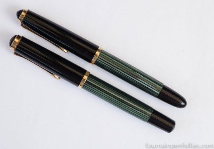 Pelikan 400nn compared to Pelikan 400