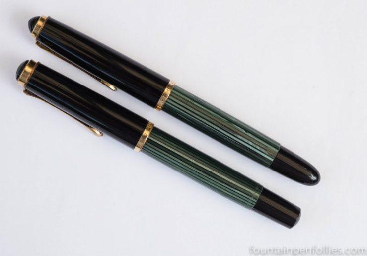 Pelikan 400nn compared to Pelikan 400
