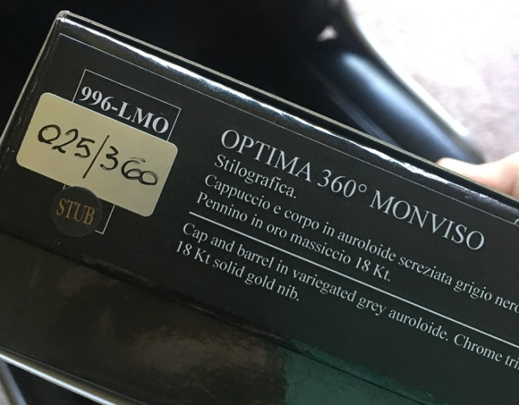 Aurora Optima Monviso box