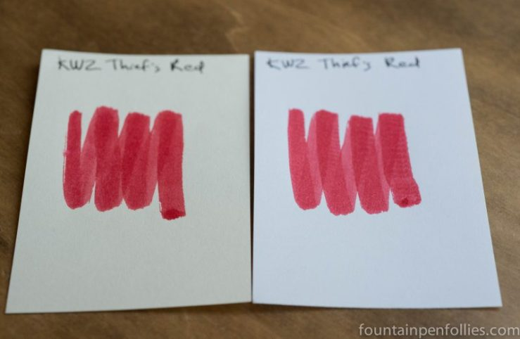 KWZ Thief's Red ink swabs