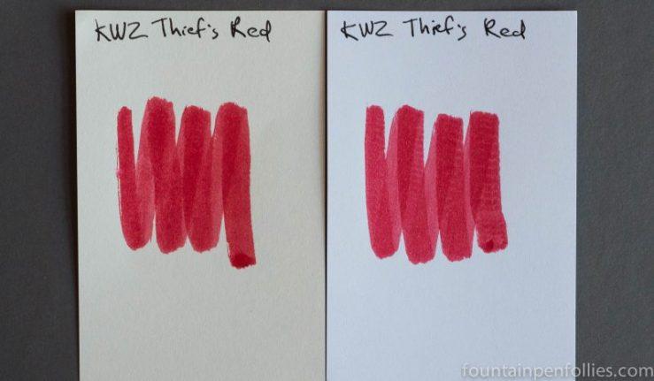 KWZ Thief's Red swabs