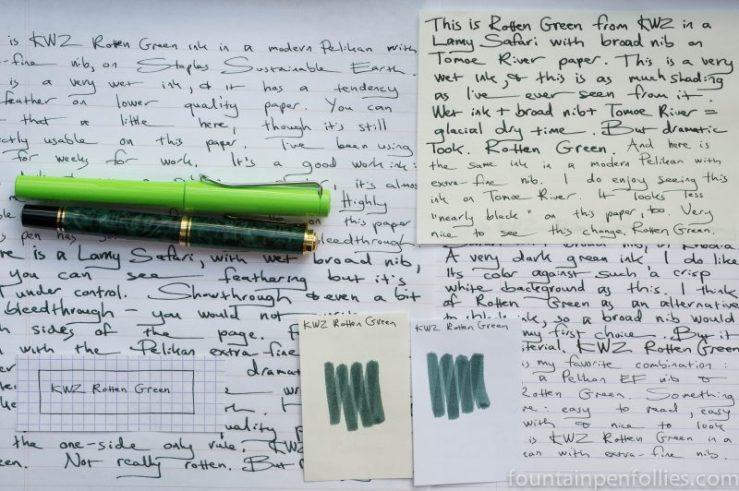 KWZ Rotten Green Writing Samples
