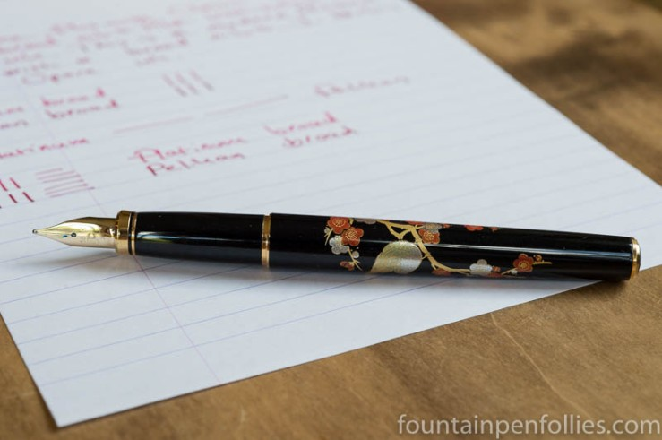 Platinum Classic Maki-e fountain pen