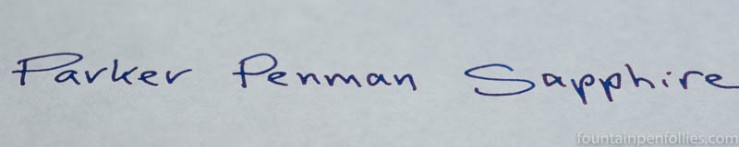 Parker Penman Sapphire writing sample