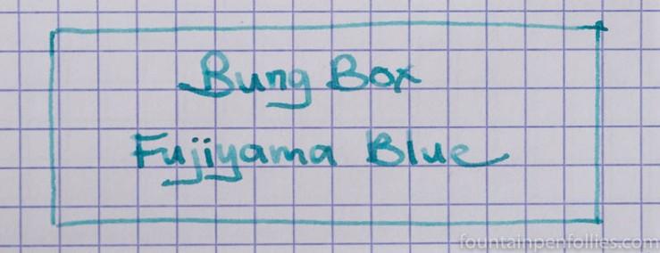 Bung Box Fujiyama Blue