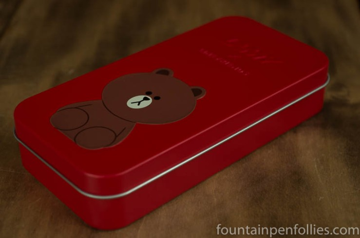 Lamy x Line Friends Brown in the Red box