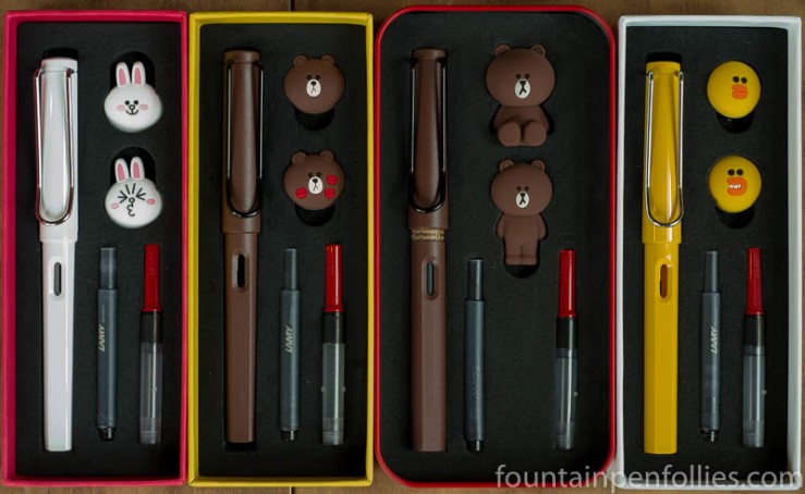 Lamy x Line Friends