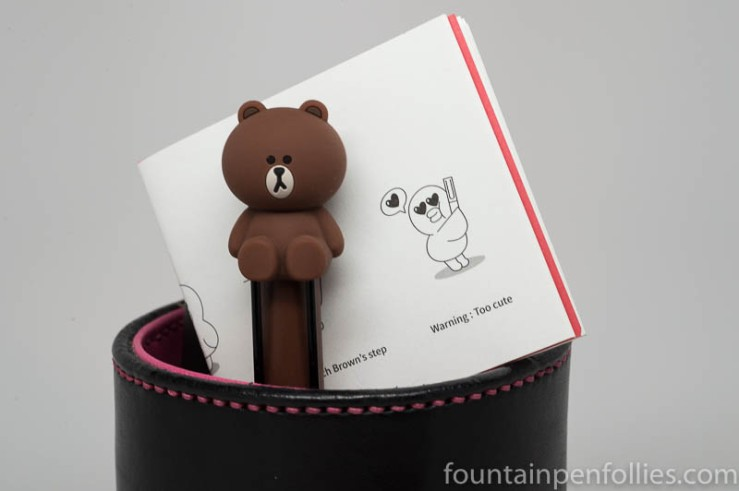 Lamy x Line Friends Brown in the Red