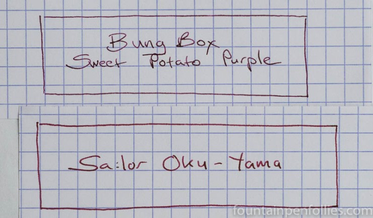 Sailor Oku-Yama and Bung Box Sweet Potato Purple