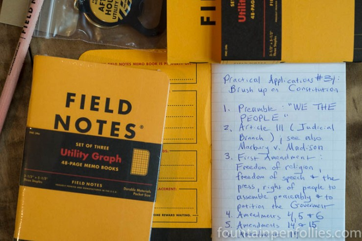 Field Notes Utility Subscriber Package