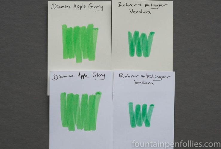 Rohrer & Klingner Verdura swab comparisons