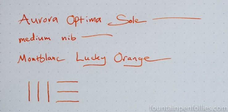 Montblanc Lucky Orange