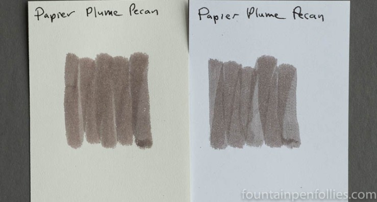Papier Plume Pecan swab