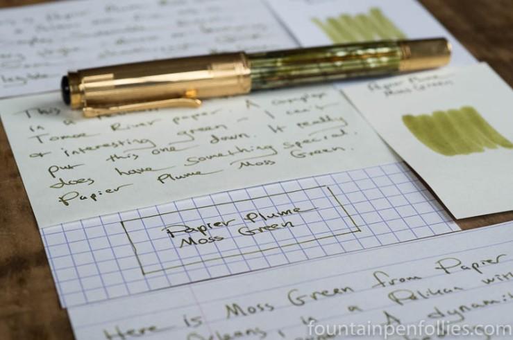 Papier Plume Moss Green