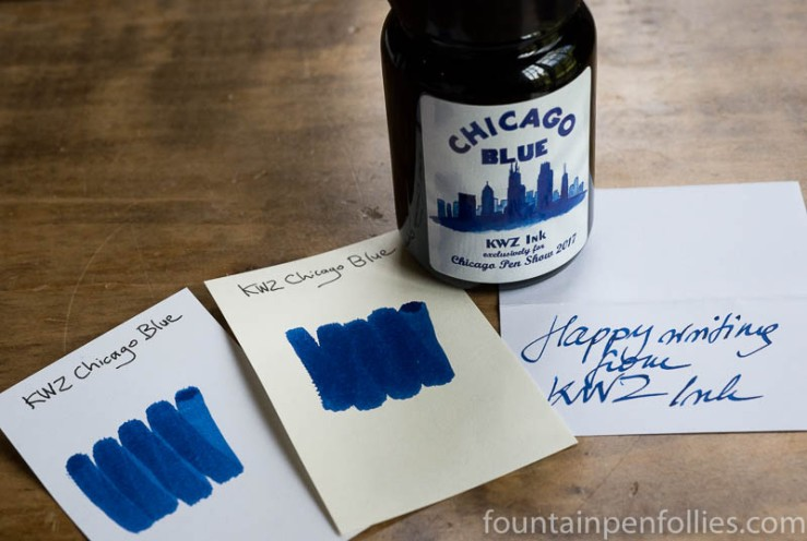 KWZ Chicago Blue for 2017 Chicago Pen Show