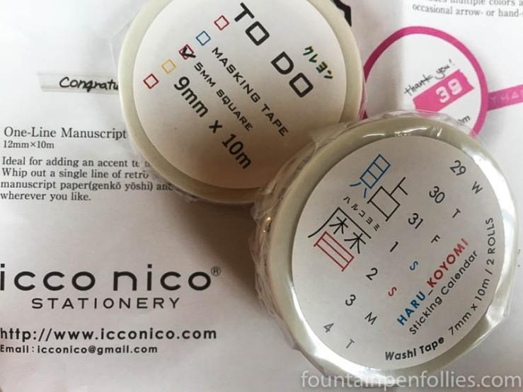 Icco Nico washi tape