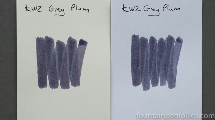 KWZ Grey Plum swabs