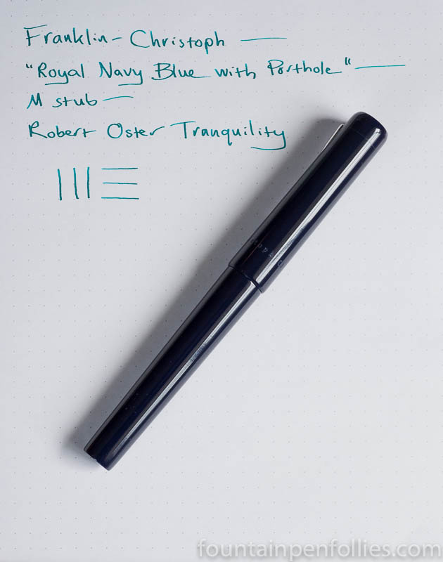 Franklin-Christoph 03 Iterum and Robert Oster Tranquility