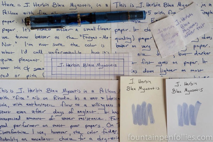 J. Herbin Blue Myosotis