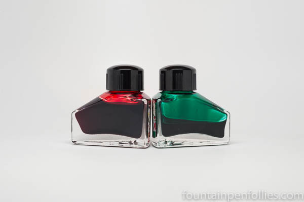 Diamine 150th anniversary ink bottles