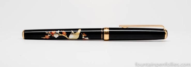 Platinum Classic Maki-e Bush Warbler