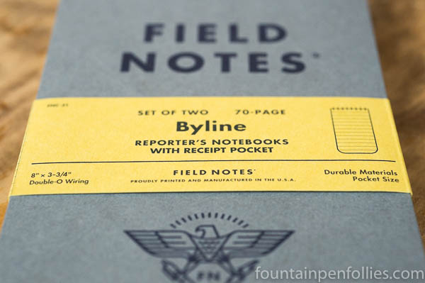 Field Notes Byline Edition