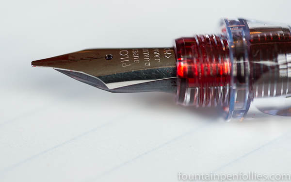 stainless steel nib with iron gall ink