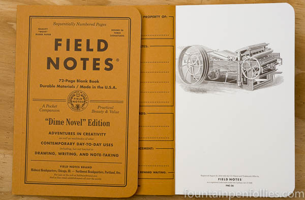 Field Notes Dime Novel