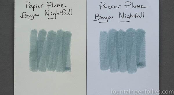 Papier Plume Bayou Nightfall swabs