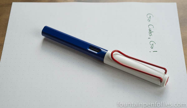 Sports Lamy Safaris Chicago Cubs colors