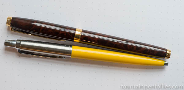 Parker Jotter and Parker 75 Thuya Laque