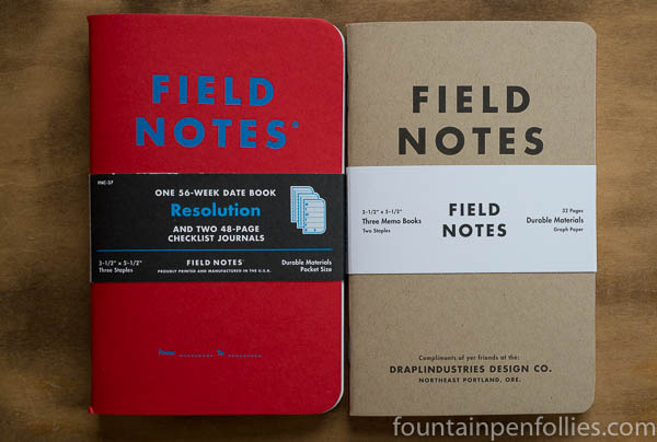 Field Notes Resolution and Field Notes Tenth Anniversary