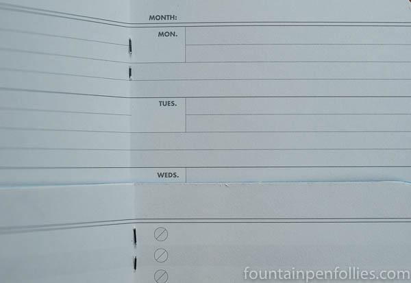 Field Notes Resolution interior