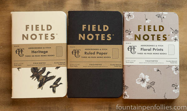 Field Notes Abercrombie & Fitch special edition