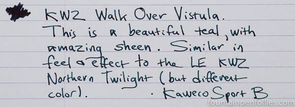 KWZ Walk Over Vistula writing sample