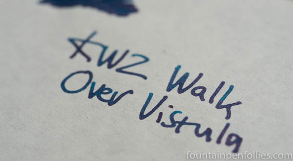 KWZ Walk Over Vistula writing sample