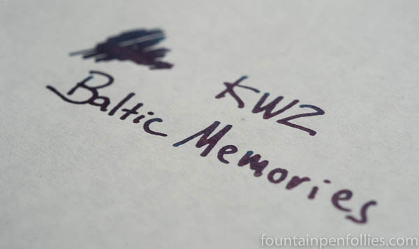 KWZ Baltic Memories writing sample