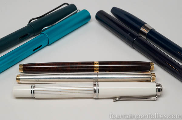 2017 fountain pens purchased
